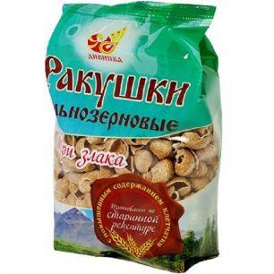 Ракушки (макаронные изделия) ц/зерновые, 300 гр