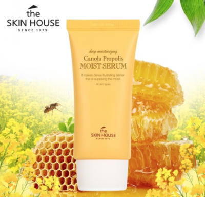 Сыворотка для лица THE SKIN HOUSE CANOLA PROPOLIS MOIST SERUM 50мл