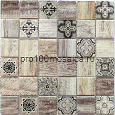 Rabat Beige Мозаика серия EXCLUSIVE, чип 48*48  размер, мм: 300*300*6