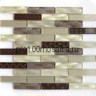 Optima Brown Мозаика серия EXCLUSIVE, чип 23*98  размер, мм: 300*300*6