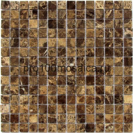 Ferato-20 POL Emperador Dark. Мозаика серия STONE, размер, мм: 305*305*7