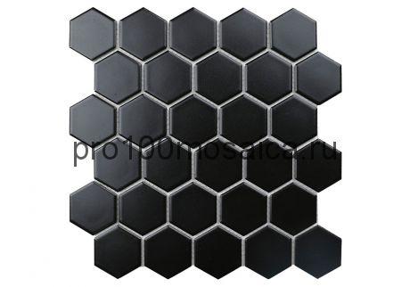 Black Gamma. Мозаика СОТЫ 51*59 мм,  размер, мм: 272*282*4 (ORRO Mosaic)