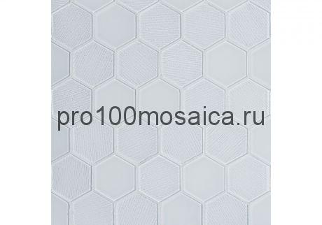 Omega White. Мозаика СОТЫ 51*59 мм,  размер, мм: 295*300*4 (ORRO Mosaic)