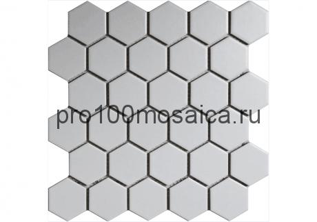 WHITE GAMMA. Мозаика СОТЫ 51*59 мм,  размер, мм: 272*282*4 (ORRO Mosaic)