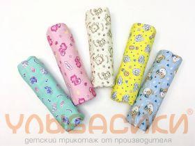 ММ Трикотажные пеленки 100х120 (кулирка, мал+дев)