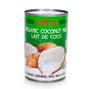 Органическое кокосовое молоко, 400 мл, ж/б