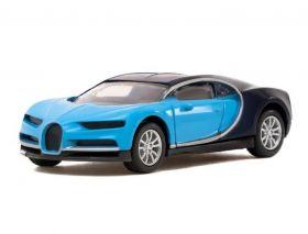Машина металлическая Bugatti «Купе», инерционная, масштаб 1:43