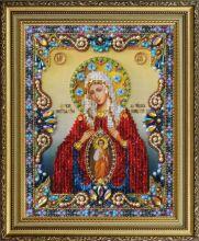 P-401 Картины Бисером. Икона Божией Матери Помощница в Родах