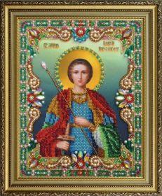 P-400 Картины Бисером. Святой Великомученик Георгий Победоносец