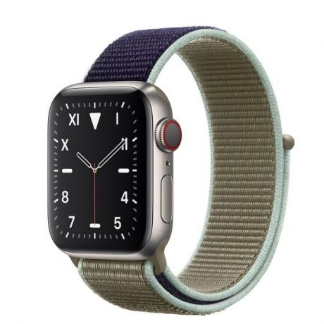 Apple Watch Edition Series 5 Titanium Case 44mm GPS + Cellular Khaki with Sport Loop