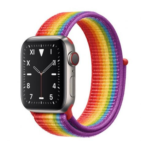 Apple Watch Edition Series 5 Titanium Case 44mm GPS + Cellular Pride with Sport Loop