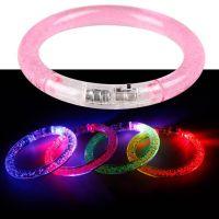 Светящийся браслет, цвет розовый