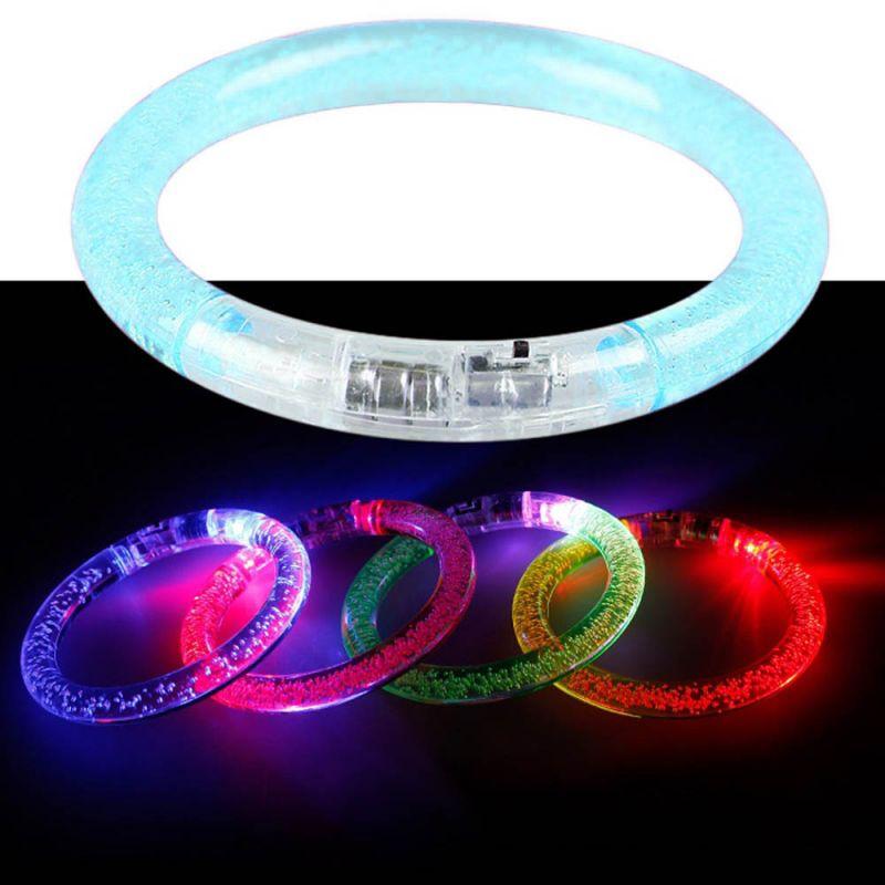 Светящийся браслет, цвет бирюзовый