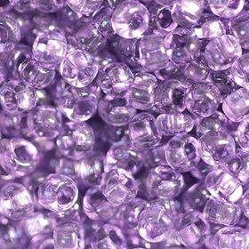Бисер чешский 01122 сиреневый прозрачный кристальный Preciosa 1 сорт купить оптом