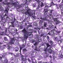 Бисер чешский 01122 сиреневый прозрачный кристальный Preciosa 1 сорт