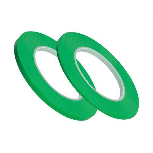 Лента для дизайна для кривых линий 6мм х 55м зеленый