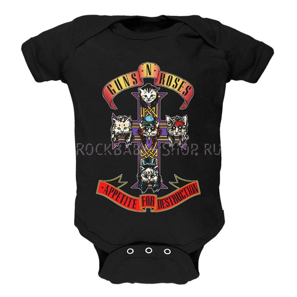 Детский боди Guns N' Roses