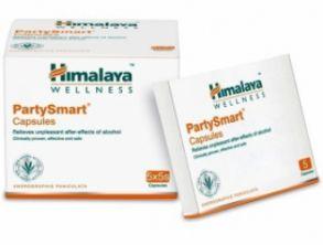 HIMALAYA PARTY SMART CAPS предотвращает развитие симптомов похмелья,5кап