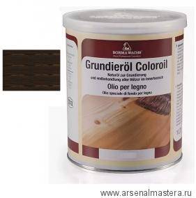 Масляное покрытие для полов и  паркета Borma Grundierol 1л цв.венге R3910-15
