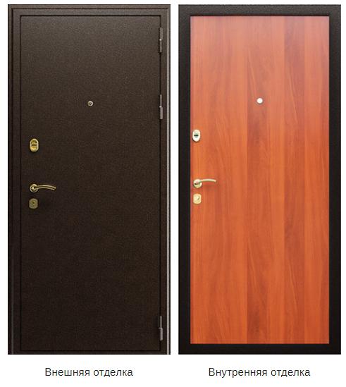 Стальная дверь «Стандарт» (заказная)
