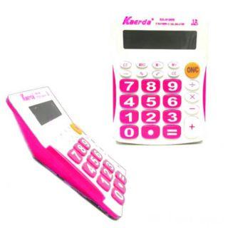 Настольный 12-разрядный калькулятор Kaerda KK-9136B, Цвет: Розовый