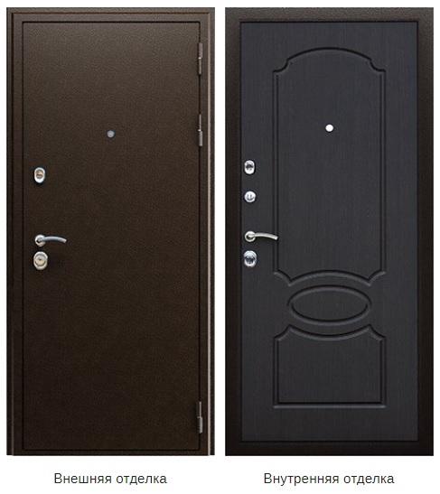 Стальная дверь «Гpация» (заказная)