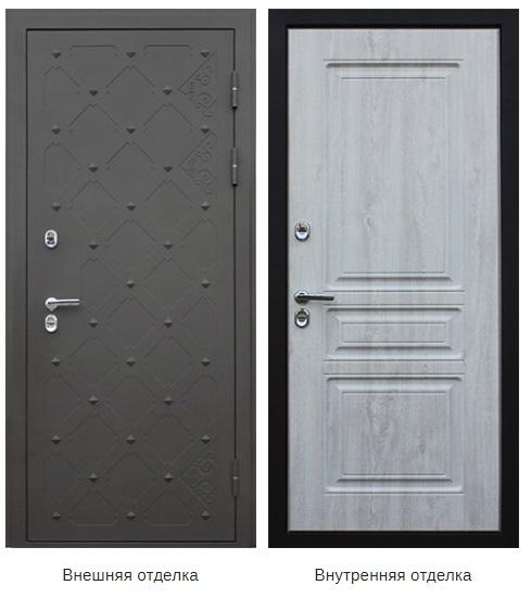 Стальная дверь «Геркулес» (заказная)