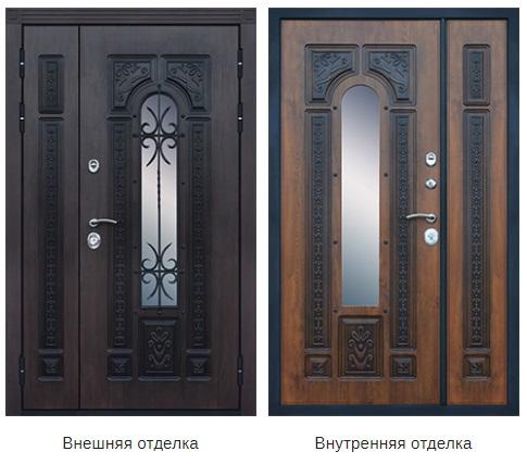 Стальная дверь «Русь Великая» (заказная)