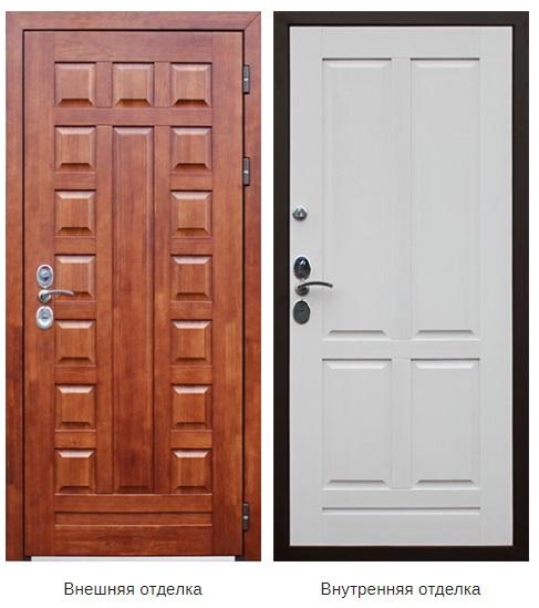Стальная дверь «Массив» (заказная)