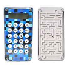 Карманный 8-разрядный калькулятор Лабиринт, Цвет: Синий
