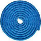 Скакалка гимнастическая одноцветная утяжеленная SM-123 Indigo