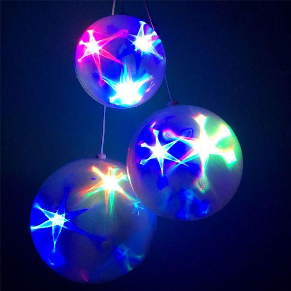 Эксклюзивный шар с LED светодиодами Ceiling Colourful Star Light,20 см