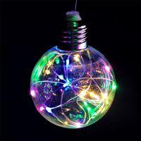 Светодиодная гирлянда Ретро-лампы, 3 м, Цвет свечения: Белый тёплый
