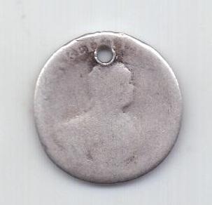 гривенник 1757 года