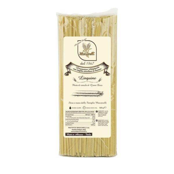 Паста Лингуине Пастифичио Машиарелли 500 гр., Linguine Pastificio Masciarelli 500 gr