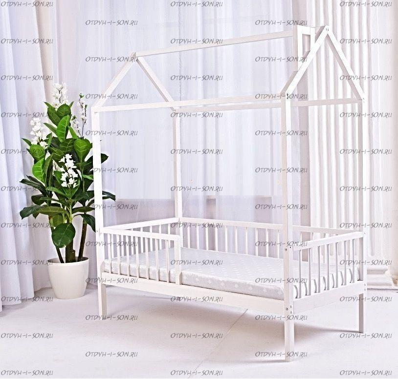 Кровать-домик Simple №2, любые размеры и цвета