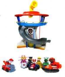 База Спасателей + комплект из 7 спасателей  на машинках (Щенячий патруль)