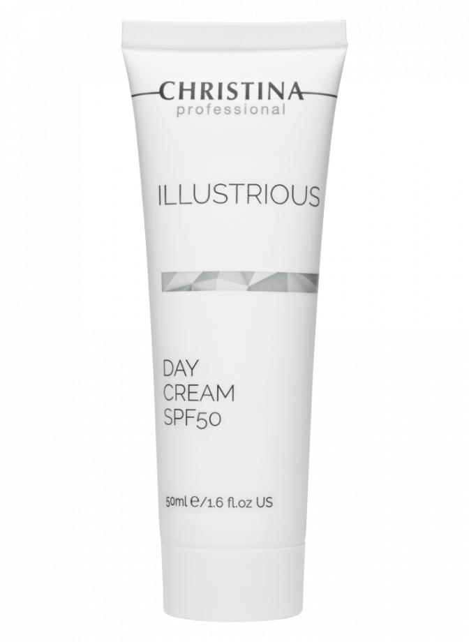 Дневной крем SPF50 Christina Illustrious (Кристина Иллюстриус) 50 мл