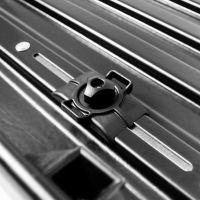 Автомобильный бокс на крышу Lux Tavr 175, 450 литров, черный матовый