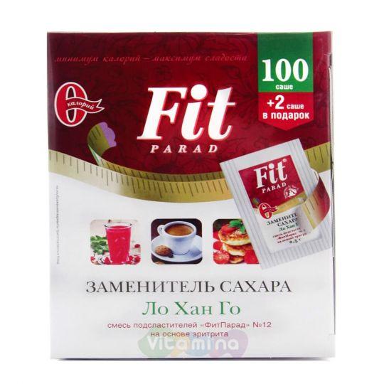 Fit Parad  Заменитель сахара с Ло Хан Го №12, 100 пакетиков