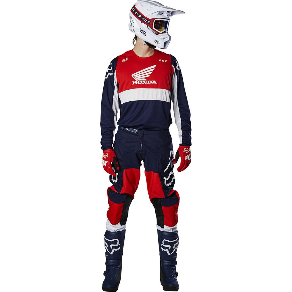 Fox - 2020 180 Honda Navy/Red комплект джерси и штаны, сине-красный