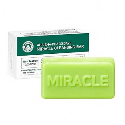 Мыло для проблемной кожи с AHA BHA кислотами AHA.BHA.PHA 30 Days Miracle Cleansing Bar