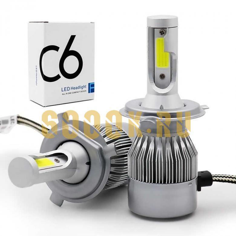 Светодиодная лампа серия C6 цоколь H7