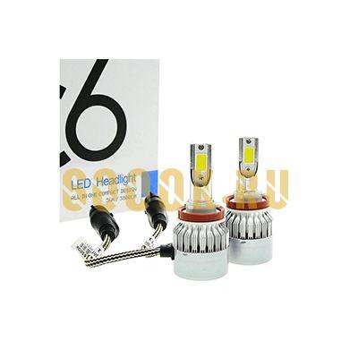Светодиодная лампа серия C6 цоколь H11