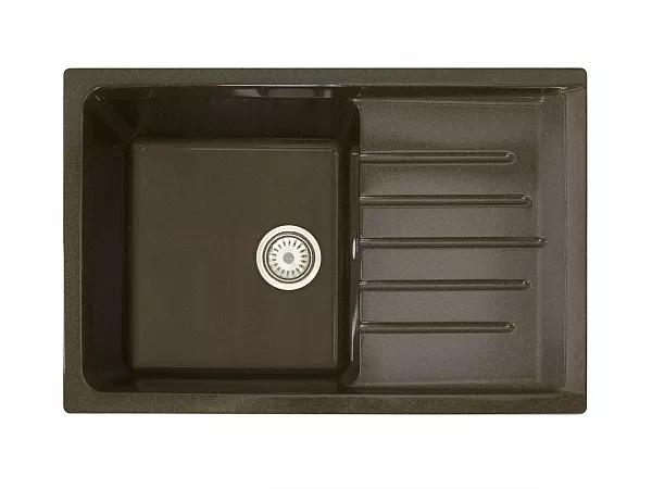 Мойка врезная VIVAT 754919 1Ч1К шоколадная