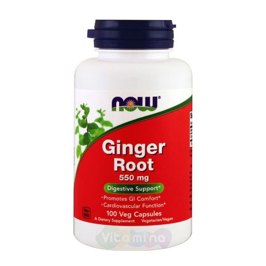 Ginger Root (Корень имбиря) 550 мг, 100 капсул
