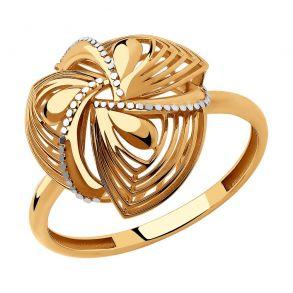 Кольцо из золота 018257 SOKOLOV