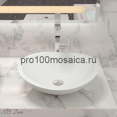 NST-5046 Раковина из POLYSTONE (акриловый камень) размер,мм: 505*454*172 (NS BATH)