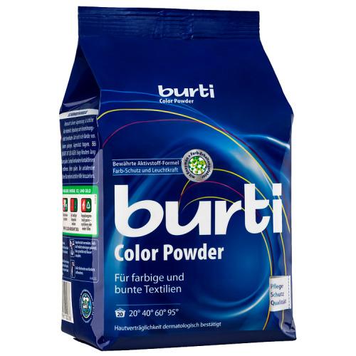 BURTI Стиральный порошок для цветного белья Burti Color, 1.5 кг