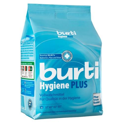 BURTI Hygiene Plus Универсальный cтиральный порошок для белого белья, 1.1 кг
